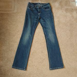 Women's boot cut denim jeans